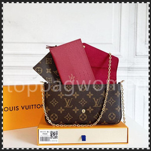 Progettisti di lusso di alta qualità Designer Fashion Crossbody Bags Borse da portafoglio Zaino Borse Borse Borse Borse Borse Borse Borse Borse Borsa Mini Borsa Set di 3 pezzi