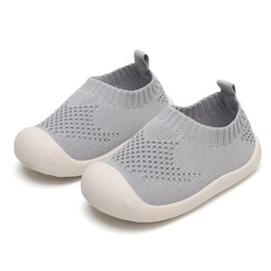Baby Boy Girl Casual Sneakers Candy Color Cut-outs Cotton Fabric Breathable Soft Shoes
