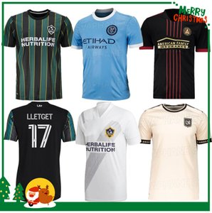 2021 Mls Los Angeles La Lafc Galaxy Miami Fussball Jerseys 21 22 Atlanta United New York City FC Higuain Home Away Football Hemden