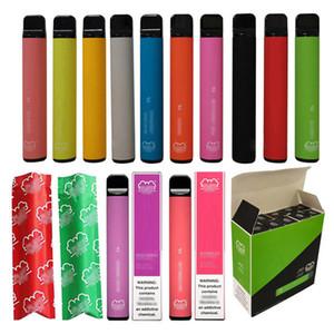 Etichetta privata VAPE Pen BUON Gusto Enorme vapore fumatori Fornitore monouso E CIG 3.2 ml 800 Pulves Sfuffer Plus Mlanal