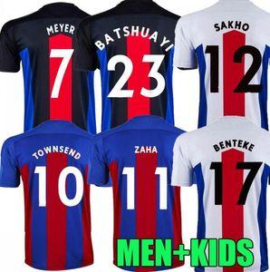 2021 Jerseys de football Zaha Milivojevic Townsend Sakho Benteke Batshuayi Shirts de football Calcio Van Aanholt Meyer