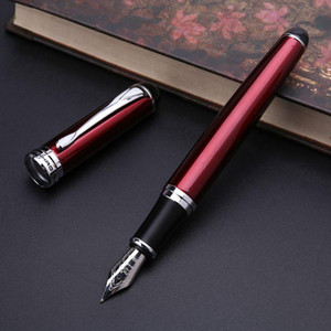 Jinhao X750 Luxury Men's Fountain Pen Business Student 0.5mm Extra Fine Nib Calligraphy Office Supply Writing Tool Q1JC
