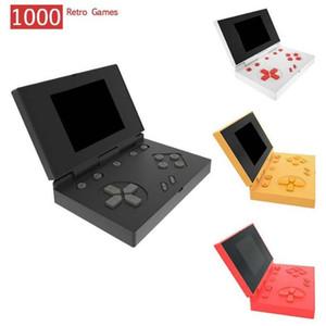 Consoles de jeu de poche rétro RS-96 peut stocker 1000 jeux portables Mini Flip Jeu Box 3.0 pouces Color Color TV Vidéo Joueur FC NES RK 96