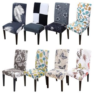 Multi-color Removable Spandex Stretch Chair Hood Seat Covers Washable Slipcover Dining Room Weddingr Covers For all season