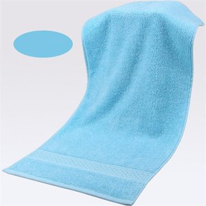 Pure Cotton Super Absorbent Towel Bath Towel 74x33cm Soft Bathroom Towels Comfortable Beach Towels 17 Colors sea ship BWB5189