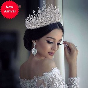 YouLaPan HP193P-S Bride Jewelry Rhinestone Accessories Hair Band Wedding Headwear Headband Crown Queen Brides Tiara