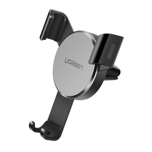 UGREEN Car Air Vent Mount Cell Phone Holder Gravity Compatible for Smartphone with maxima 6.2 inch Screen Size (Black)