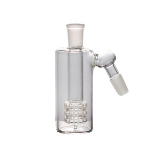 14mm 18mm glass Ash Catcher 4.5 Inch Mini Glass Bong Ash Catchers Thick Pyrex Clear Bubbler 45 90 Degree can customizable logo
