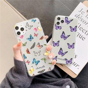 Nette Schmetterlings-Telefonkasten für Huawei p40 P30 pro P20 Lite Mate 30 20 P Smart Y9 Nova 5T für Ehre 20 8x 10 9x 30 Pro Back Cover