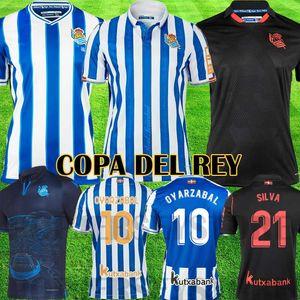 Real Sociedad 2019 2020 X.PRIETO J.ZALDUA AGIRRETXE Heimtrikot CARLOS V. GRANERO M.BERGARA JUANMI Fussball-Trikot