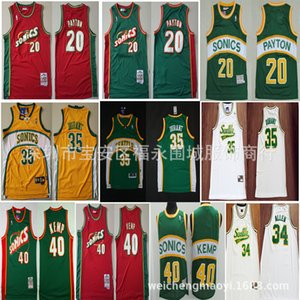 Um Supersônico 35 Durant 40 Sean Camp Green Jersey