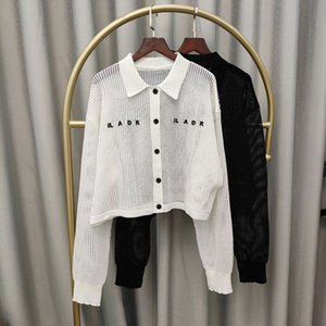 coat Designer brand windbreaker summer short women loose and versatile personality hedging fashion sun protection top