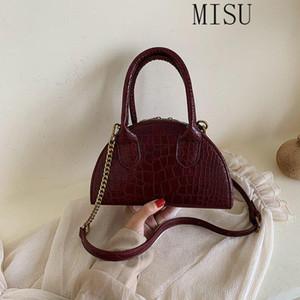 2021 sacs à main de la mode pour femmes Sac à bandoulière croix tendance coréenne motif crocodile mignon sacs fourre-tout dames petits sac de chaîne