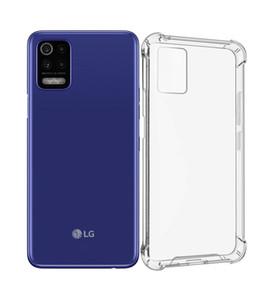 شفافة الاكريليك صدمات الصدمات الصلب tpu الحالات الهاتف واضحة ل lg المخملية G900 ستايلو 7 6 K51 Q31 Q92 K22 K32 K52 Q32 V60 V50S عززت الزاوية حالة الهاتف المحمول
