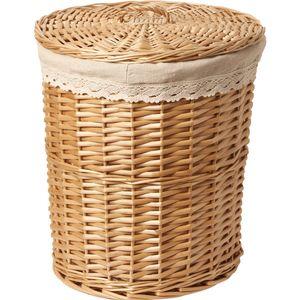 Mimbre Cesta sucia Caballo Caja de almacenamiento Caja de almacenamiento Hot Pot Shop Wearing Ropa T200224 340 S2
