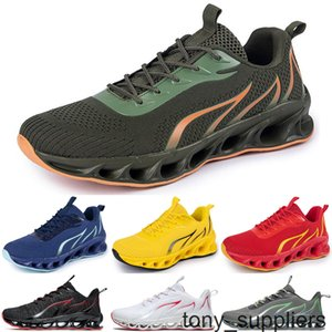 new men running shoes Athletic black white outdoor cushion breathable mens trainers sports sneakers runners size 40-44 color14