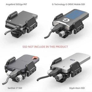 SSD Mount Universal Holder for External like Clamp Samsung T5 Angelbird SSD2go PKT Glyph Atom