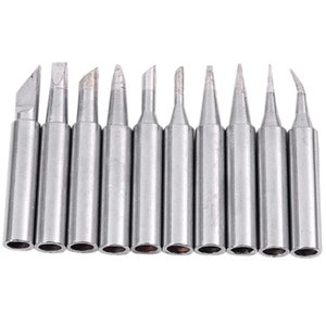 Hand & Power Tool Accessories 10 Tip Set Tips Soldering For Iron 900-T-I  BK  1.6D  2.4D  3.0D  2C  3C  4C