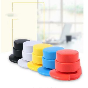 No Staples Machine Mini Cute Book Stapleless Stapler Paper Stapling Without Staple Free Convenient and compact