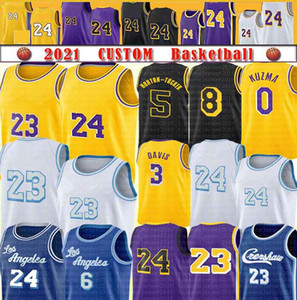 Anthony 3 Davis Kyle 0 Kuzma Basketball Jersey Los Alex 4 Caruso Talen 5 Horton-Tucker Marc 14 Gasol Angeles Custom Mens Stitys