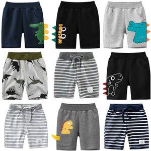 1-9 Jahre Kinder Jungen Shorts Hosen 100% Baumwolle Dinosaurier Sport Lässige Knicker für Baby Jungen Mädchen