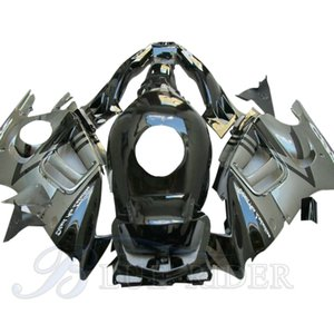 Motorcycle Fairing Kit Parts For HONDA CBR 600 F3 Fairings 1997 - 1998 CBR600 F3 97 98 Aftermarket Grey Black Bodyworks