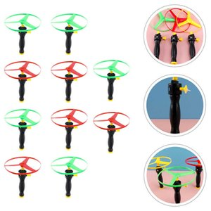 10pcs String Saucer Funny Flying Disc Child Outdoor Toys