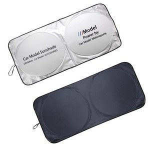 Car Sunshade Windshield Sun Shade Cover For M Sports Logo Auto Parasol Coche Visor Protector Emblem Z3 Z4 X2 1 2 3 4 Series