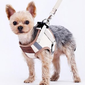 Fashion Warm Dog Harness Leash Set for Small Dogs Pets Prodcut Puppy Vest Harness