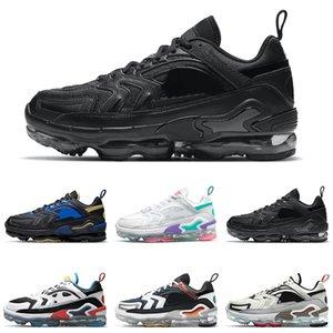 Moda Air Vapormax Evo Running Zapatos Vapores Mujeres Hombres Evolución de los iconos Hyper Lave Triple Black Mens Trainers Deportes Sneakers Szie 36-45