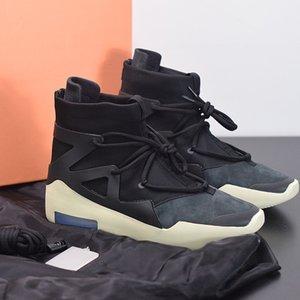 Yüksek quatily tanrı korkusu 1 sis çizmeler yelken ışık kemik gri siyah buzlu ladin turuncu nabız atmosfer sarı basketbol ayakkabı erkekler sneakers