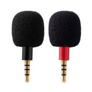 Microphones Mini Microphone Portable Small Mic For Smartphone Sound Card Computer Laptop With 3.5mm Jack Wireless Plug And Play
