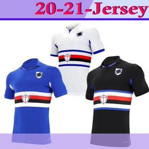 Versão tailandesa Qualidade 20/21 Sampdoria Jersey Jersey UC Sampdoria Vintage Classic Mancini Vialli Cerezo Attílio Lombardo Futebol Camisa