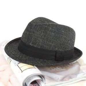 Printemps et automne rouleau bron cow-boy chapeau unisexe jazz chapeau cool gentil fedora haute qualité fedora cow-boy populaire jazz populaire