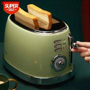 Tostapane della cucina Retro Mini Colazione Breakfast Breakfast Toaster Home Automatic Toast Machine Sandwich # ZT5C