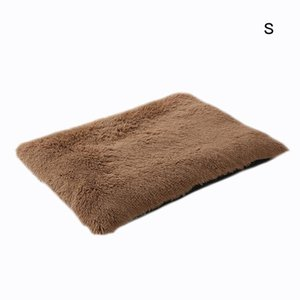Kennels & Pens Plush Pet Mat Cat Pad Thickened Bed Washable Vacuum Packaging Winter Removable Warm For Large Medium Small Dogs Cats Kennel