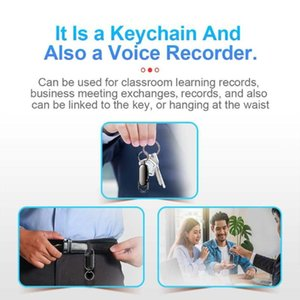Digital Voice Recorder 918A Professional S22 Recording Pen Keychain One-key File Encryption Portable For Classroom Learning