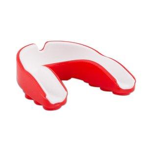 Protecteur de dents de silicone protecteur de la bouche de bouche adulte gueule de bouche pour boxe sport football de basketball hockey karaté muay thai b2cshop c19040401
