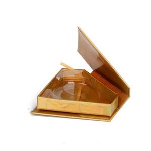 wholesale diamond false eyelash packaging box fake 3d mink eyelashes boxes faux cils magnetic case lashes empty
