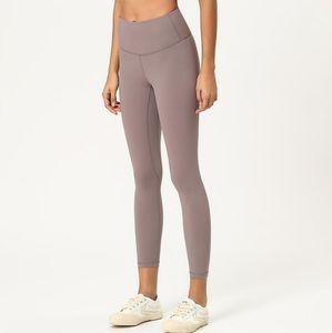 Leggings para mujer Pantalones para mujer Pantalones deportivos Gimnasio Wear Leggings Elastic Fitness Lady General Mallas Completas Entrenamiento Pantalones de yoga Tamaño XS-XL