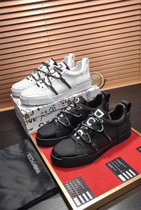 """DG""""L DOLC""""GABBANA""""L 2021 Top Designer Mens womens Casual Shoes Fashion Genuine Leather Sneakers Luxury Trainers em51290"""