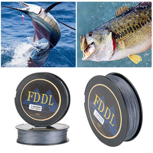 Portable Fishing Line 4-strand Braided Strong Tension Recovery Fast And Light Anti-twisting Line Rivers And Lakes Fishing Tools
