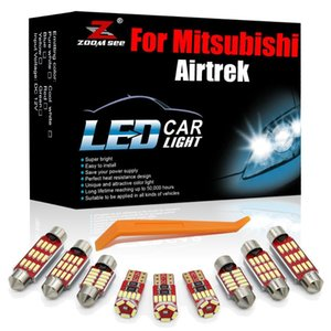 Emergency Lights High Power White Canbus LED Interior Kit For Mitsubishi Airtrek 2002-2021+ Vehicle Car Trunk Reading Boot Lamp Light Access