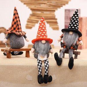 Plush Doll Christmas Halloween 2021 Beard Grandpa Interior Decoration Cartoon Toy Holiday Creative Gift Wholesale