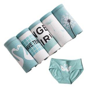 5 Pcs lot Panties Women's Underwear Cotton Briefs Seamless Calcinhas Print Underpants Girls Panty Comfortable Sexy Lingeries