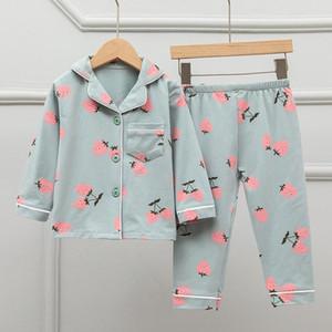 Children Cartoon Rabbit Pajamas For Girls Kids Animal Printed Pyjamas Girls Pajamas Child Home Wear Boys Sleepwear Set