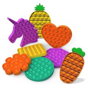 Push Pop Bubble Sensory Fidget Toy among Autism Special Needs Stress Reliever It Squeeze Sensory Toy for Kids Family Friends 30pcs