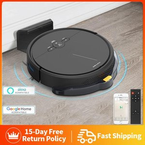Vacuum Cleaners 3600PA Smart Robot Cleaner Remote Control Wireless Floor Sweeping Machine Alexa Planned Cleaning For Home