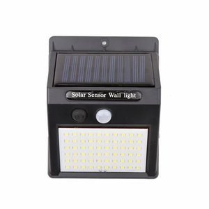 Outdoor Wall LED Solar Lamps Waterproof Solar Light PIR Motion Sensor Solar Powered Garden Led Lamp for Garden Decoration