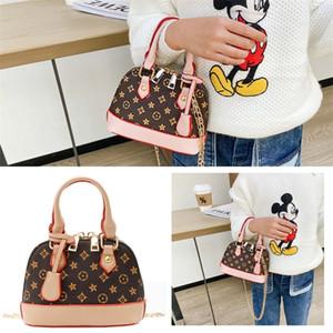 Детские девочки мода сумка PU кожа кожаный кошелек цепь раковины сумка бренда crossbody fanny pack сумки сумки посыльный сумки принцесса сумки h22304